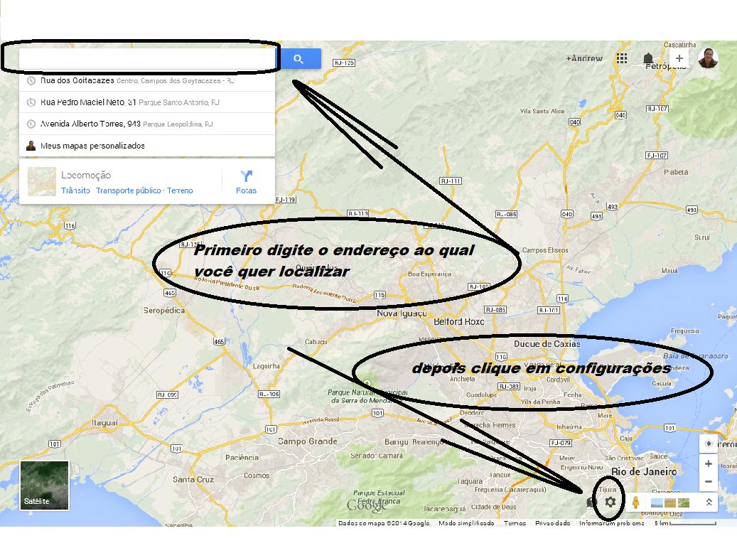 Código Embed para mapas