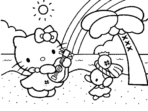Coloring Pages Hello Kitty Dolphin : Cute dolphin coloring pages colorings