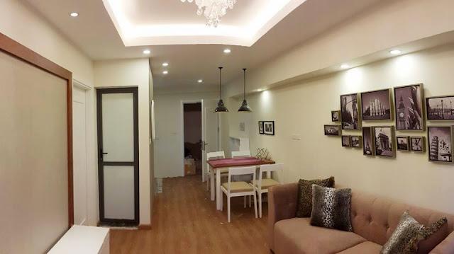 Thiết kế phòng bếp chung  cư ct3 tây nam linh đàm