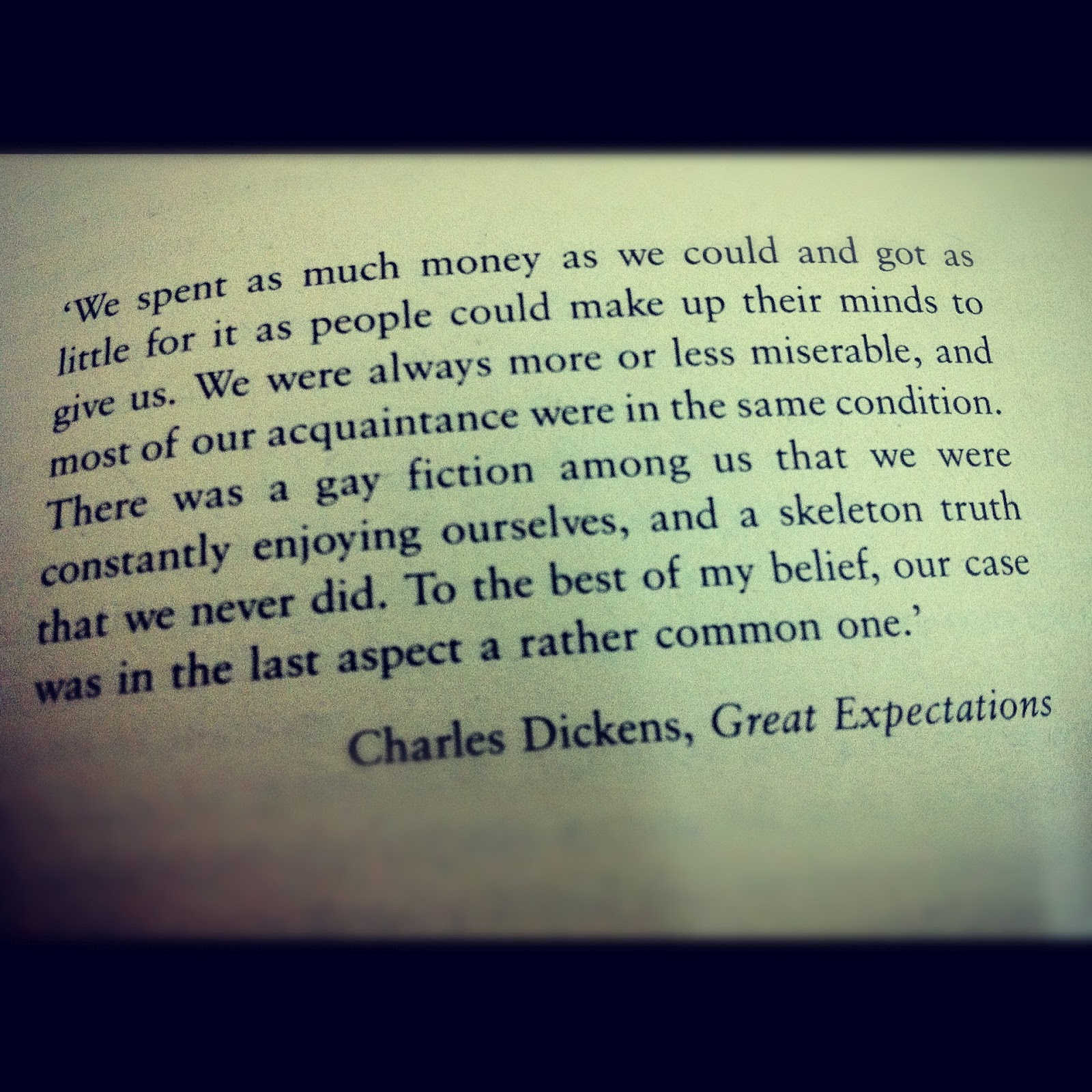 a description of the great expectations by charles dickens Free essay: importance of setting in great expectations charles dickens viewed london as a place of economic competition and death in great expectations, he.