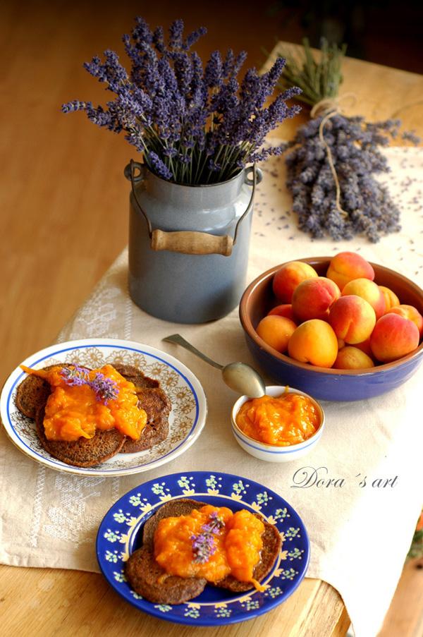 Lieskovcové dolky s marhuľovo-levanduľovým džemom (bezlepkové a vegan)