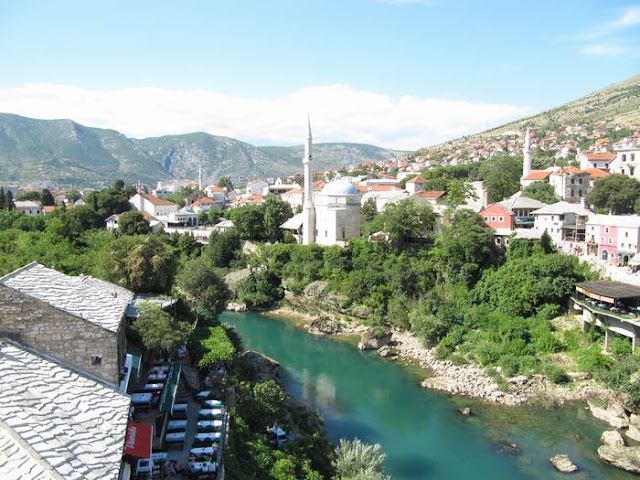 pueblo Mostar, pueblo Bosnia