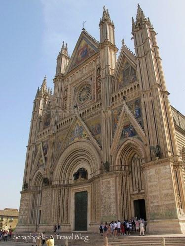 Facade Orvieto CathedralItaly