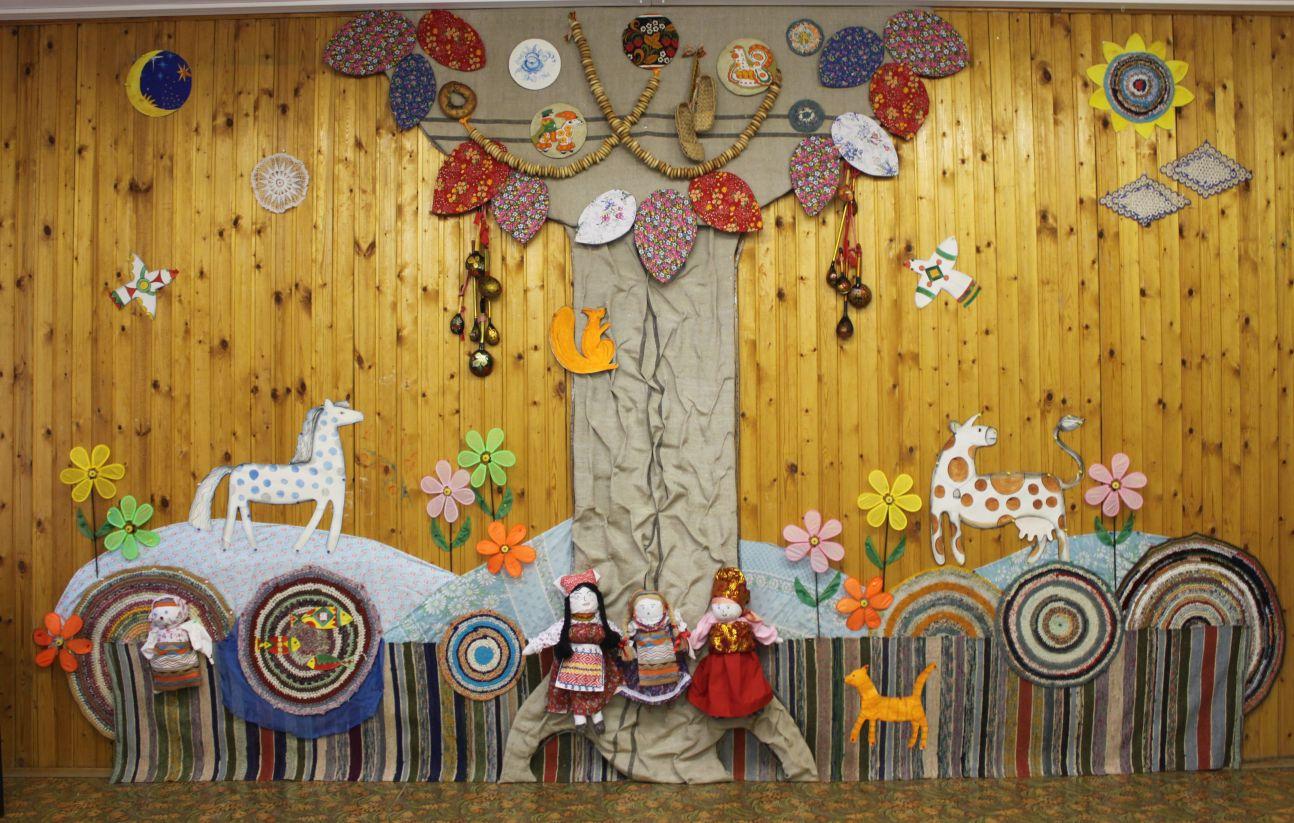 Детский праздник в русском стиле организация детских праздников Мост Багратион