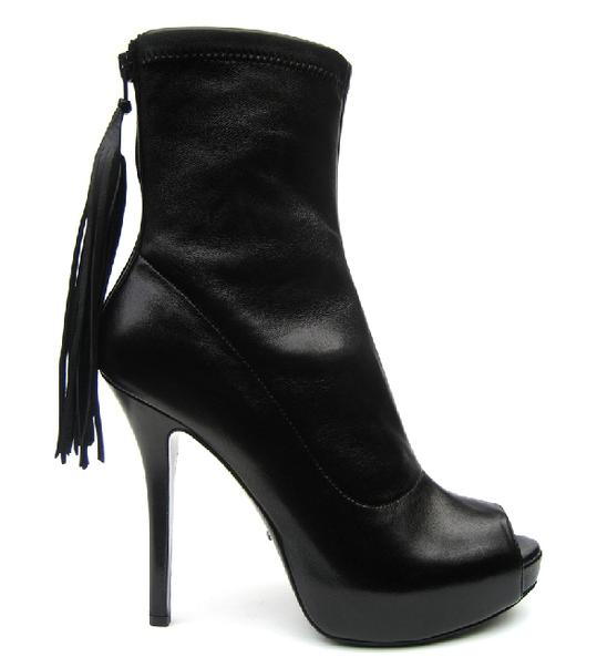 Fetish Fashion :  Jerome C Rousseau Black Low Boots