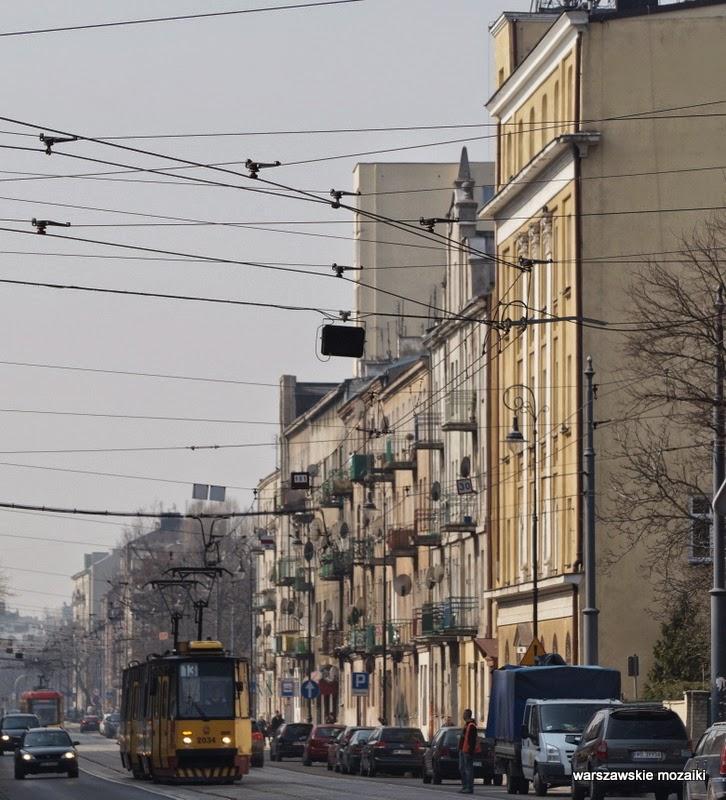 tramwaj tory Warszawa Szmulowizna Praga Północ kamienice zabytek ulica
