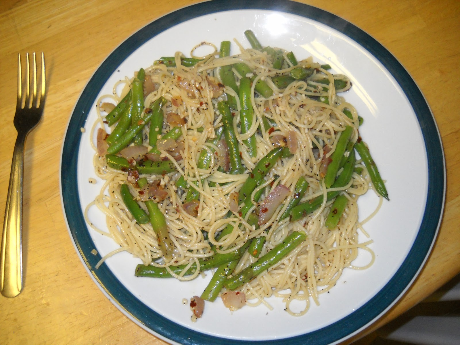 Life On The Lake Angel Hair Pasta With Green Beans