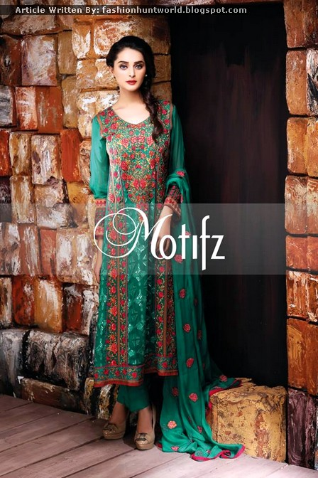 Motifz Crinkle Chiffon Formal 2015 Collection