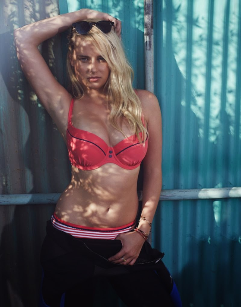 Cleo Swimwear by Panache Spring/Summer 2014 Campaign featuring Genevieve Morton