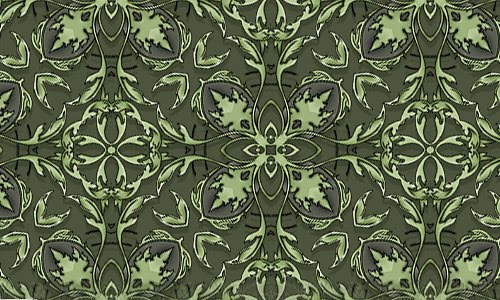 Brooks green pattern