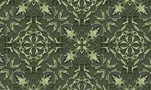Brooks green pattern