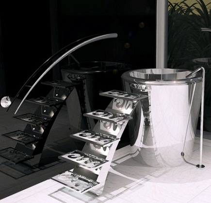 Yeni+tasarim+kuvet+modeli Banyo Dekorasyonuna Özel Tasarımlar Eklendi