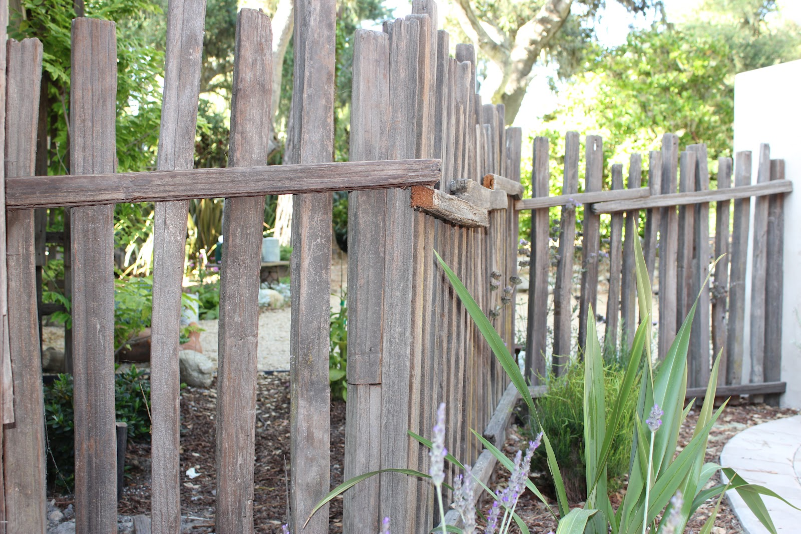 European Farmhouse Charm: The Beautiful Patina Of 80 Year Old Grape Stake  Fencing