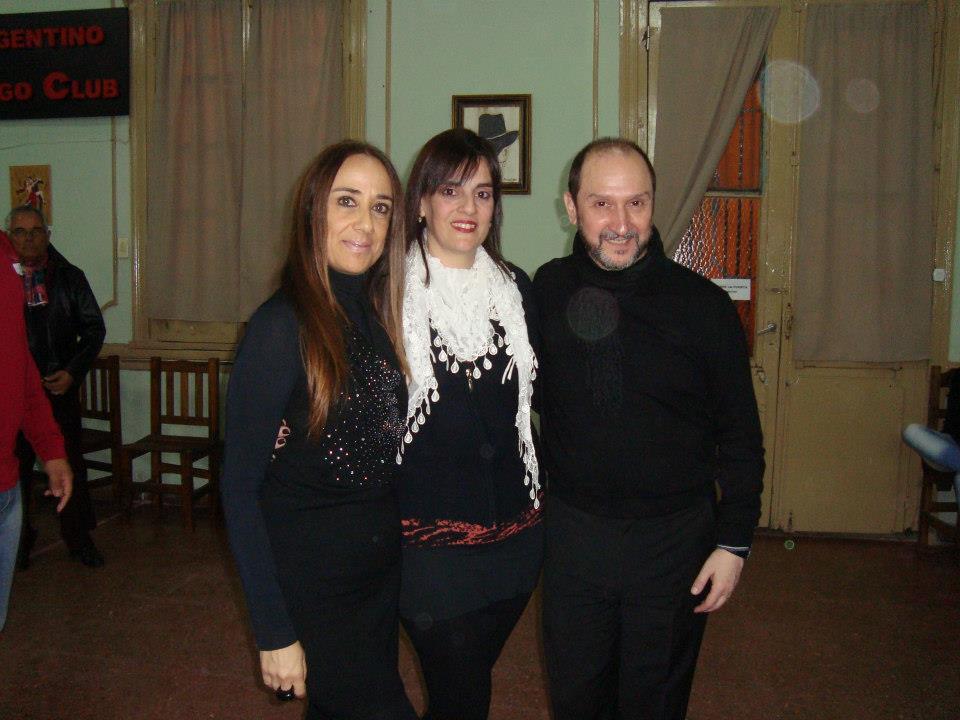 CON CLAUDIA MENDOZA Y LUIS CASTRO
