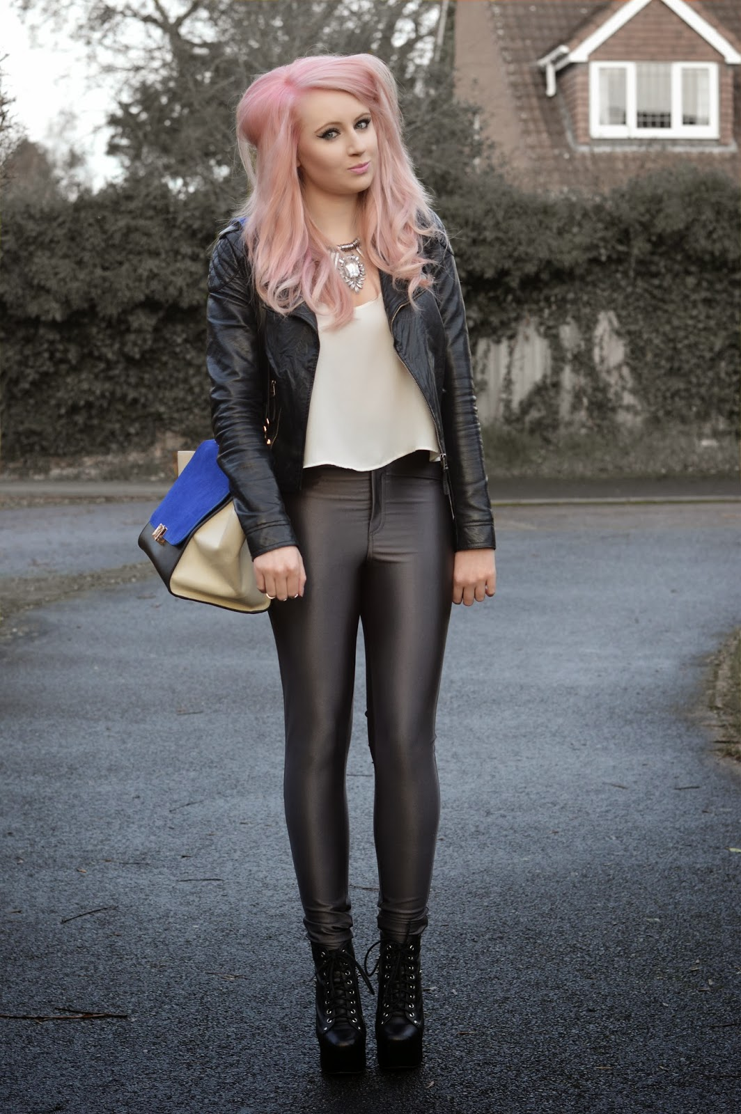 Sammi Jackson - Grey Discopants - Look 1