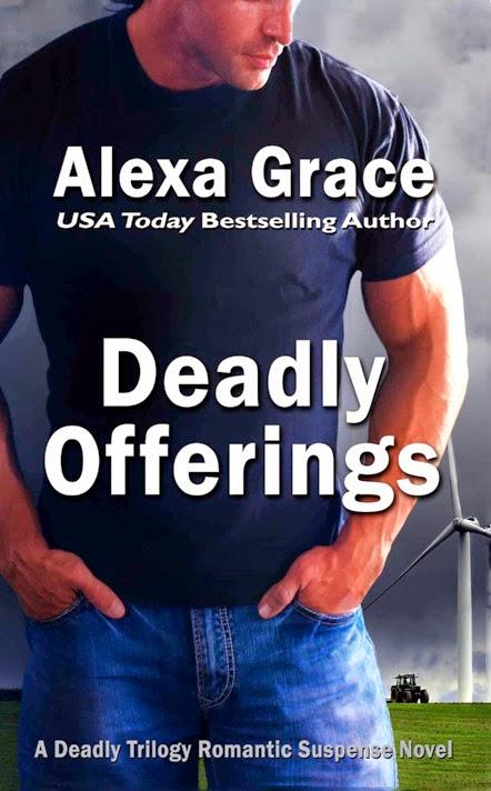 http://www.amazon.com/Deadly-Offerings-Book-1-ebook/dp/B006QD261G/ref=sr_1_1?s=digital-text&ie=UTF8&qid=1415377589&sr=1-1&keywords=deadly+offerings+alexa+grace