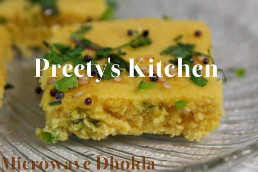 how to make dhokla in microwave without eno