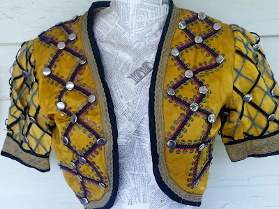 antique vest costume