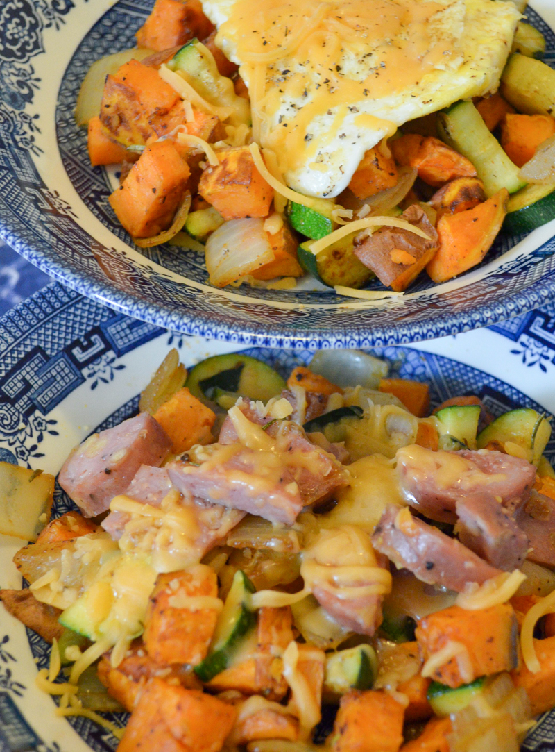 Sweet Potato Hash | Thanksgiving Vegetable Leftover Recipe Ideas | Luci's Morsels :: LA Food Blog