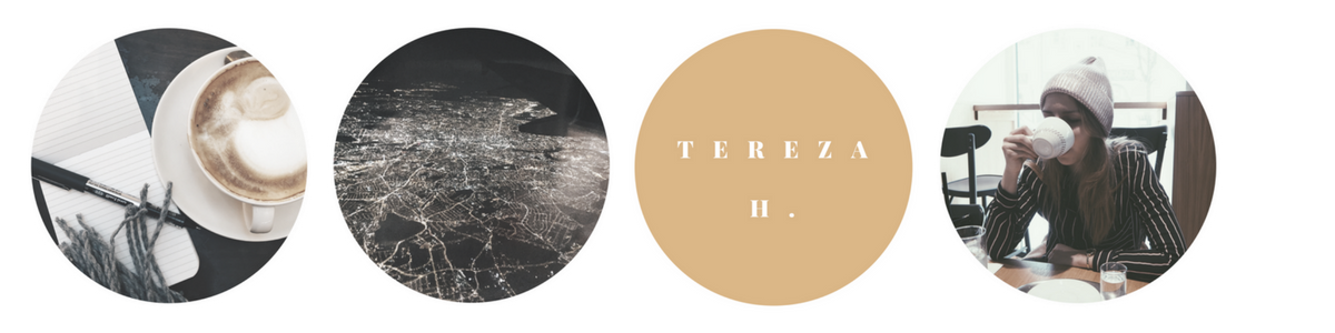 With love, Tereza.
