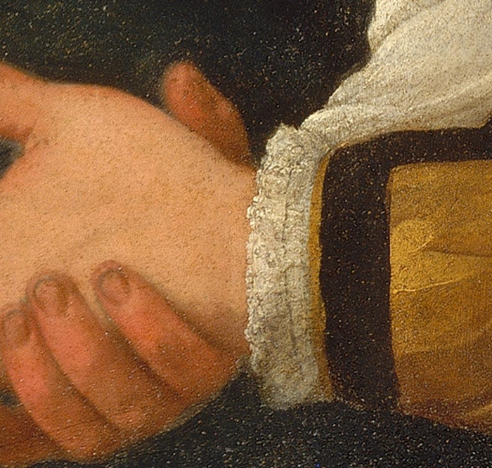 La versione romana della Buona Ventura 1593-1594