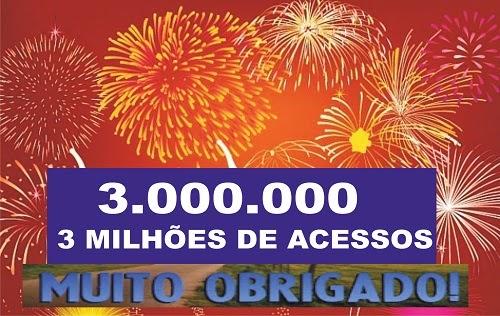 Blog do Eurípedes Dias ultrapassa os 3 milhões de acessos.