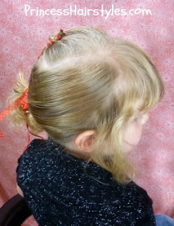 Toddler Christmas hairstyles