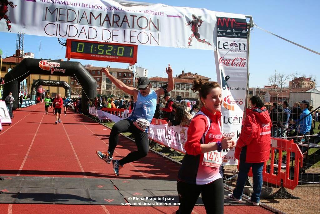 Fotos de la Media Maraton de León