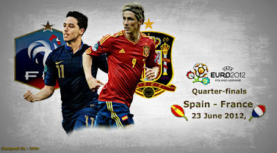 SPANIA FRANTA EURO 2012 live online 23 iunie azi la TVR 1 sferturi de finala pe internet Campioantul european de fotbal Sopcast