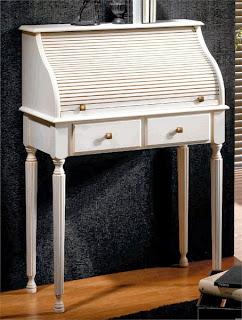 mueble escritorio bureau, escritorio persiana, mueble entrada