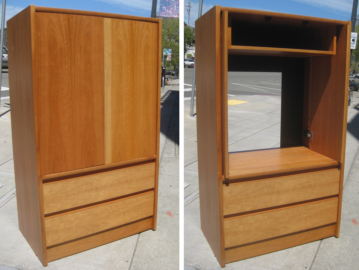 Amazing photo of UHURU FURNITURE & COLLECTIBLES: SOLD Teak TV Armoire $60 with #784624 color and 1197x900 pixels