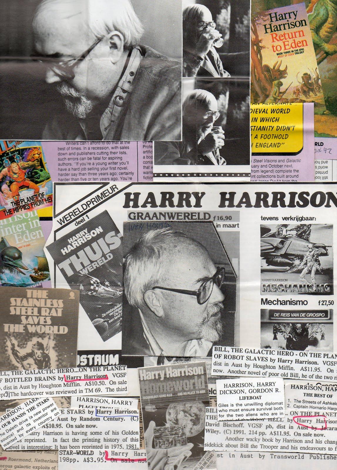 Eight Miles Higher: SF WRITER: HARRY HARRISON \u0027THE REAL GALACTIC HERO\u0027