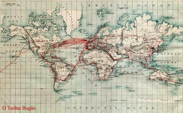 telgraf haritası