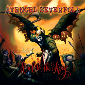 Avenged Sevenfold Album Hail To The King Cover Album