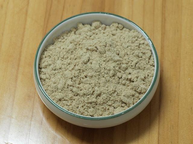 磨細之後的米糠