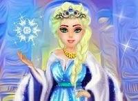 Frozen Elsa: La reina del hielo makeover