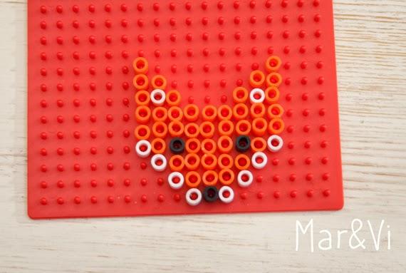 Pattern Hama Beads volpe