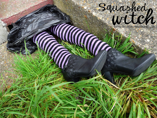 Squashed Witch | The Purple Pumpkin Blog