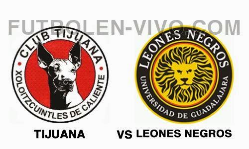 Tijuana vs Leones Negros
