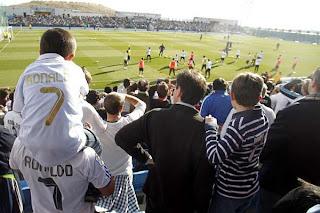 Real Madrid también se entrena para el publico