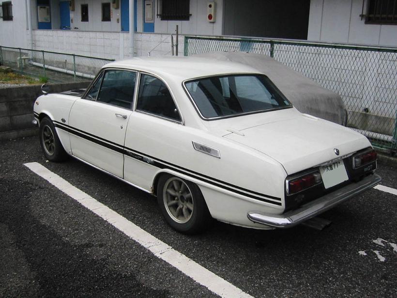 Isuzu Bellett GT  stary japoński samochód, klasyk, oldschool, 日本車, クラシックカー