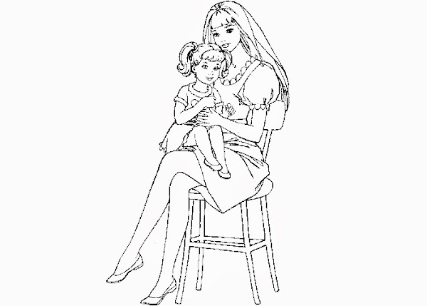 bing barbie ken coloring pages - photo#28