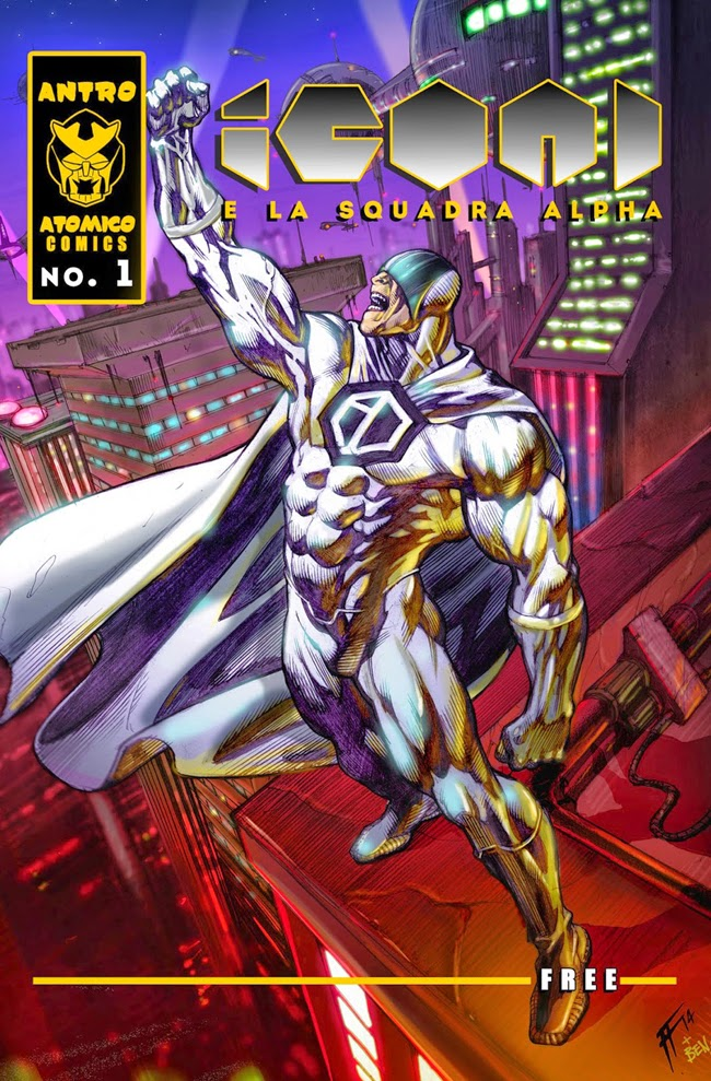 icon 1 e la squadra alpha cover #1