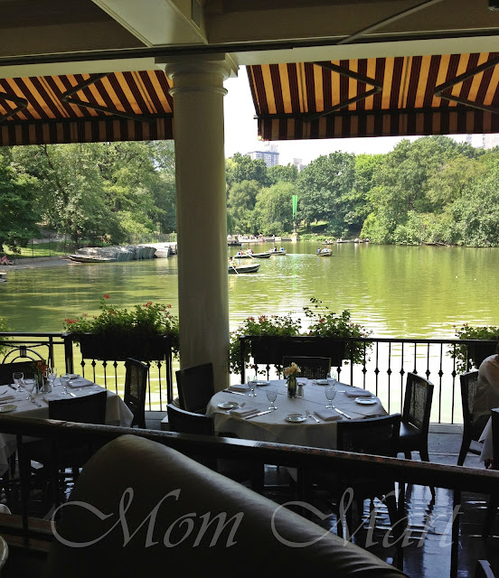 The Boathouse in Central Park New York