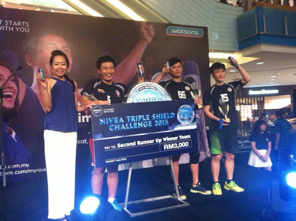 Nivea TripleShiled Challenge winner