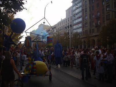 """K de Calle en la Inauguración del Tragachicos de Zaragoza con """"RAINBOW INVADERS"""""""