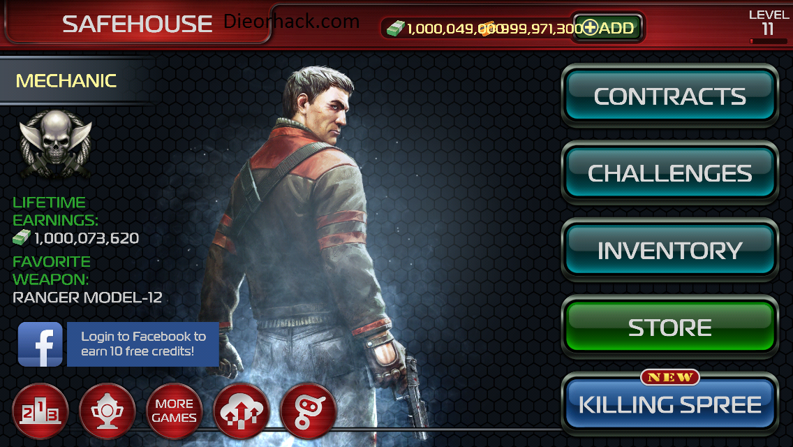 Contract Killer 2 Version Unlimited Gold Unlimited Cash v3.0.1