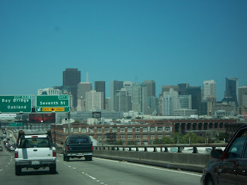 Driving through San Francisco