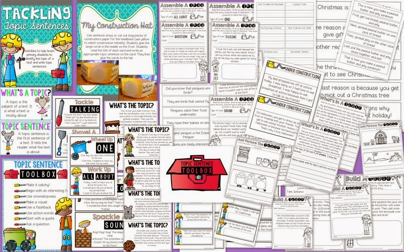 http://www.teacherspayteachers.com/Product/Tackling-Topic-Sentences-1652261
