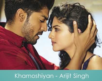 Khamoshiyan Guitar Chords & Guitar Tabs - Arijit Singh
